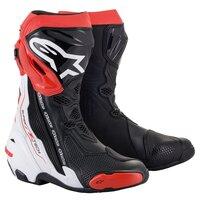 Alpinestars Supertech R V2 Boots Black/White/Red
