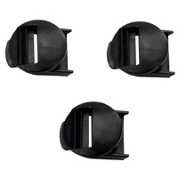 Alpinestars Replacement Strap Receiver Pass (3 Pack) for Tech 10/8/7/7SM/6/3/2/SMX 1/Stella Tech 3 Boots