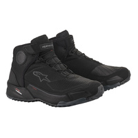 Alpinestars CR-X Drystar Riding Shoes Black/Black