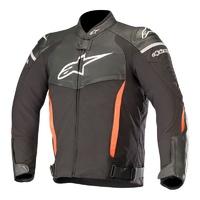 Alpinestars SP-X Air Leather Jacket Black/White/Red