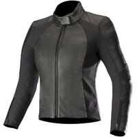 Alpinestars Stella Vika V2 Leather Jacket Black