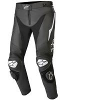 Alpinestars Track V2 Leather Pants Black/White
