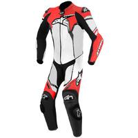 Alpinestars GP Plus 1 Piece Leather Suit Black/White/Red