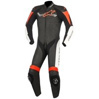 Alpinestars Challenger V2 1 Piece Leather Suit Black/White/Red