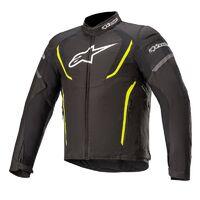 Alpinestars T-Jaws V3 Waterproof Jacket Black/Fluro Yellow [Size:3XL]