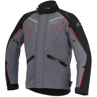 Alpinestars Yokohama Drystar Jacket Dark Grey/Red/Black