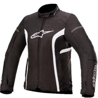 Alpinestars Stella T-Kira V2 Waterproof Textile Jacket Black/White