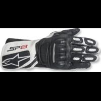 Alpinestars Stella SP-8 V2 Gloves Black/White [Size:SM]