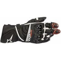 Alpinestars GP Plus R2 Gloves Black/White (Red tips)