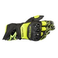 Alpinestars GP Pro R3 Gloves Black/Fluro Yellow