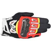 Alpinestars SMX-2 Air Carbon V2 Gloves Black/Fluro Red