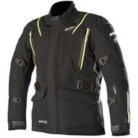 Alpinestars Big Sur Goretex Pro Jacket w/Tech Air Compatible Black/Fluro Yellow