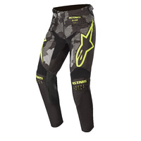Alpinestars Racer Tactical Pants Black/Grey Camo/Fluro Yellow