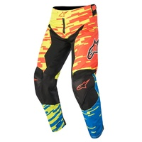 Alpinestars Racer Braap Pants Red/Blue/Yellow