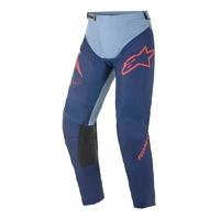 Alpinestars 2021 Racer Braap Pant Dark Blue/Light Blue/Red