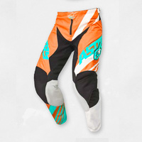Alpinestars Racer Supermatic Pants Orange/White/Teal