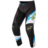Alpinestars Racer Supermatic Pants Black/Cyan/White