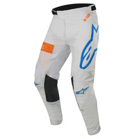 Alpinestars Racer Tech Atomic Pants Cool Grey/Mid Blue/Fluro Orange