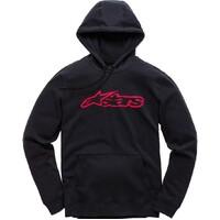 Alpinestars Blaze Pullover Fleece Hoodie Black/Red