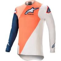 Alpinestars 2021 Supertech Blaze Jersey Orange/Blue