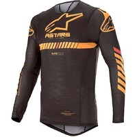 Alpinestars 2020 Supertech Jersey Black/Orange