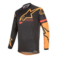 Alpinestars 2020 Racer Tech Compass Jersey Black/Orange