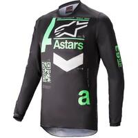 Alpinestars 2021 Fluid Chaser Jersey Black/Mint