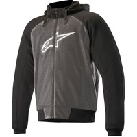 Alpinestars Chrome Sports Hoodie Anthracite/Black/White