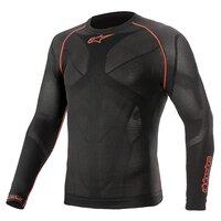 Alpinestars Ride Tech V2 Long Sleeve Summer Top Black/Red