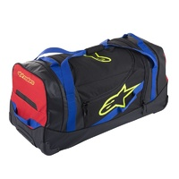 Alpinestars Komodo Travel Bag 94x45x40cm 150L Black/Blue/Red/Fluro Yellow