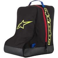 Alpinestars Boot Bag Black/Fluro Yellow/Blue/Red 43 x 37 x 26cm