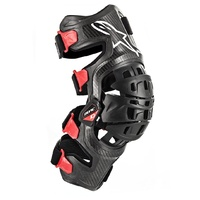 Bionic 10 Carbon Right Knee Brace Black/Red