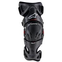 Alpinestars Fluid Tech Left Knee Brace w/Spacers Anthracite/Red/White