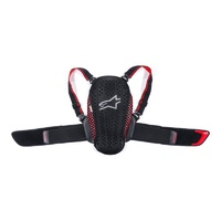 Alpinestars Nucleon KR-Y Back Protector Black/Fluro Red /One Size