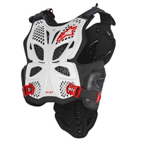 Alpinestars A-10 Chest Armour White/Black/Red