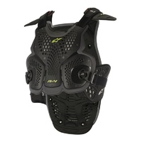 Alpinestars A-4 Chest Armour Black/Yellow