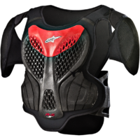 Alpinestars A5 Youth Body Armour Black/Red