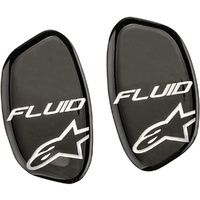 Alpinestars Replacement Fluid Tech Hinge Covers Set Black/Ocean