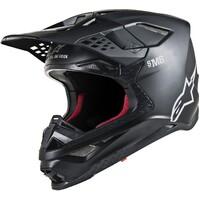 Alpinestars Supertech M8 Helmet Solid Matte Black