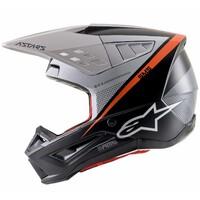 Alpinestars 2021 S-M5 Helmet Rayon Matte Black/White