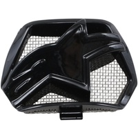 Alpinestars Replacement Chin Vent Gloss Black for M10/M8 Helmets
