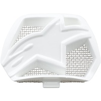 Alpinestars Replacement Chin Vent Gloss White for M10/M8 Helmets