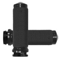 """Avon Grips AVMF63AANOFLY Grips Set Memory Foam Style Black 1.5"""" Thr-By-Wire Models Only"""