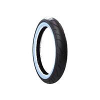 Avon Tyres AV911910WW Cobra Chrome Whitewall Front Tyre 100/90-H19 AV91