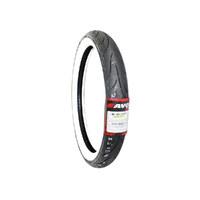 Avon Tyres AV9121MHWW Cobra Chrome Whitewall Front Tyre MH90-21 AV91