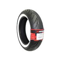Avon AV92161865WW Cobra Chrome AV92 Rear Tyre White Wall 180/65-B16