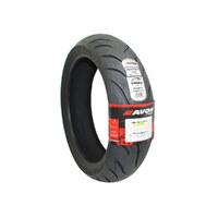 """Avon AV921818B Cobra Chrome 18"""" Rear Tyre 180/55-VB18 AV92"""