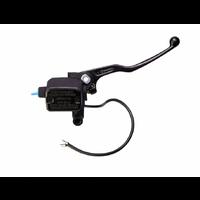 Brembo PS16 Front Brake Master Cylinder w/Lever/Reservoir & Microswitch Black for Aprilia/Cagiva/Ducati/KTM/Yamaha Models