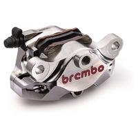 Brembo P4 34 84mm Rear Caliper Kit Nickel for Aprilia/Ducati Models