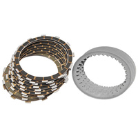 Barnett B-306-30-20017 Clutch Kit Big Twin'84-89 Friction+Steel